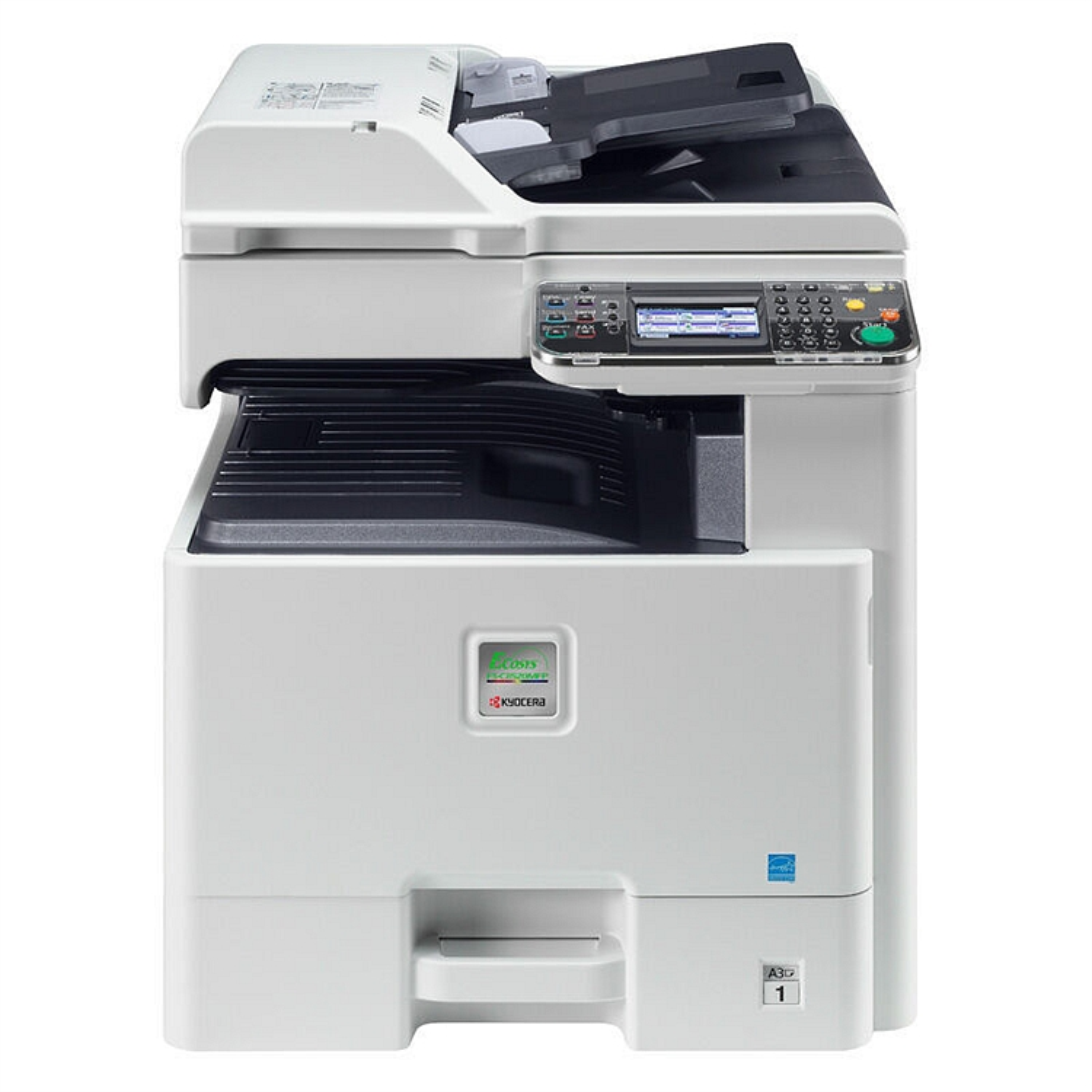 京瓷FS-C8525MFP彩色低速数码复印机标配含稿器、双面器(台)