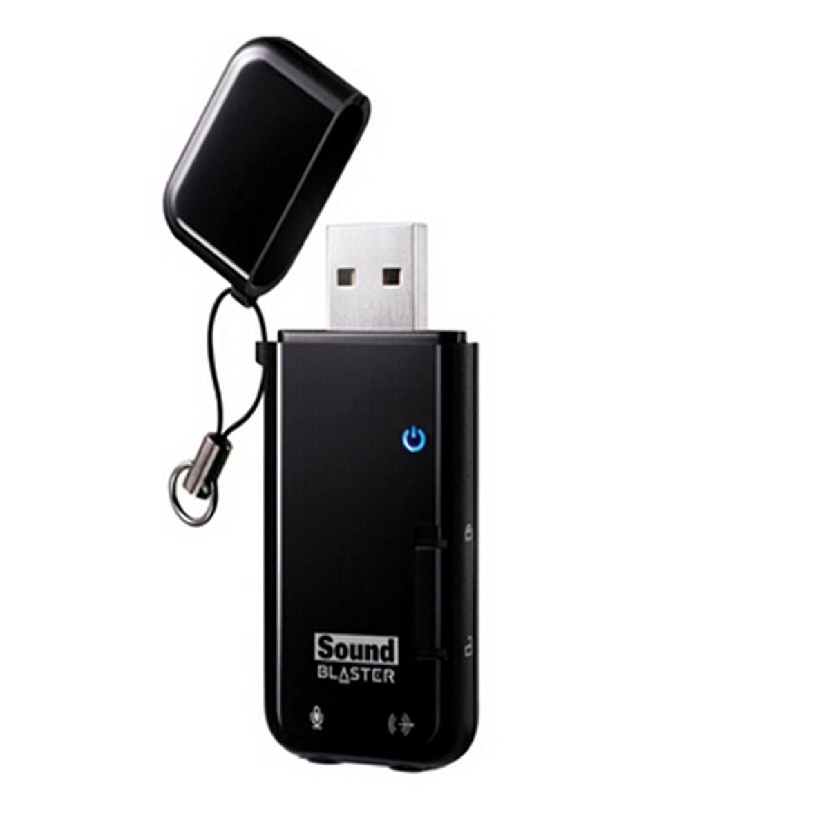 创新 SOUND BLASTER X-FI GO USB 2口智能USB插线板 250V/10A/2500W(单位:块) 黑色