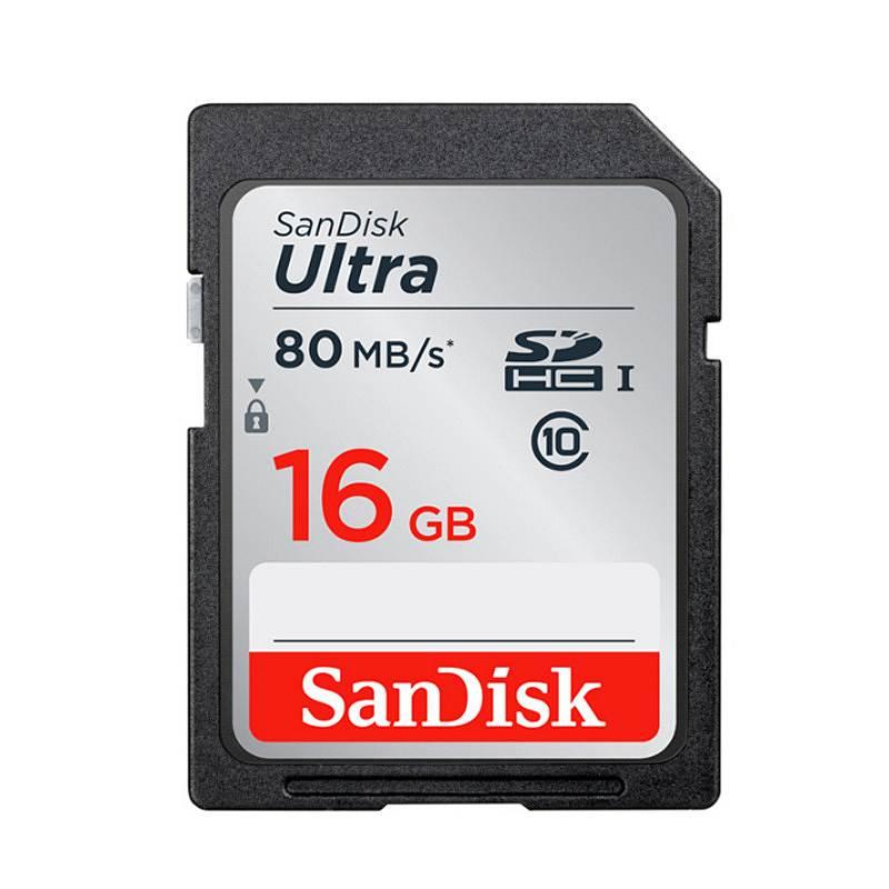 闪迪 SDSDUNC SD卡存储卡 16G (单位:个)