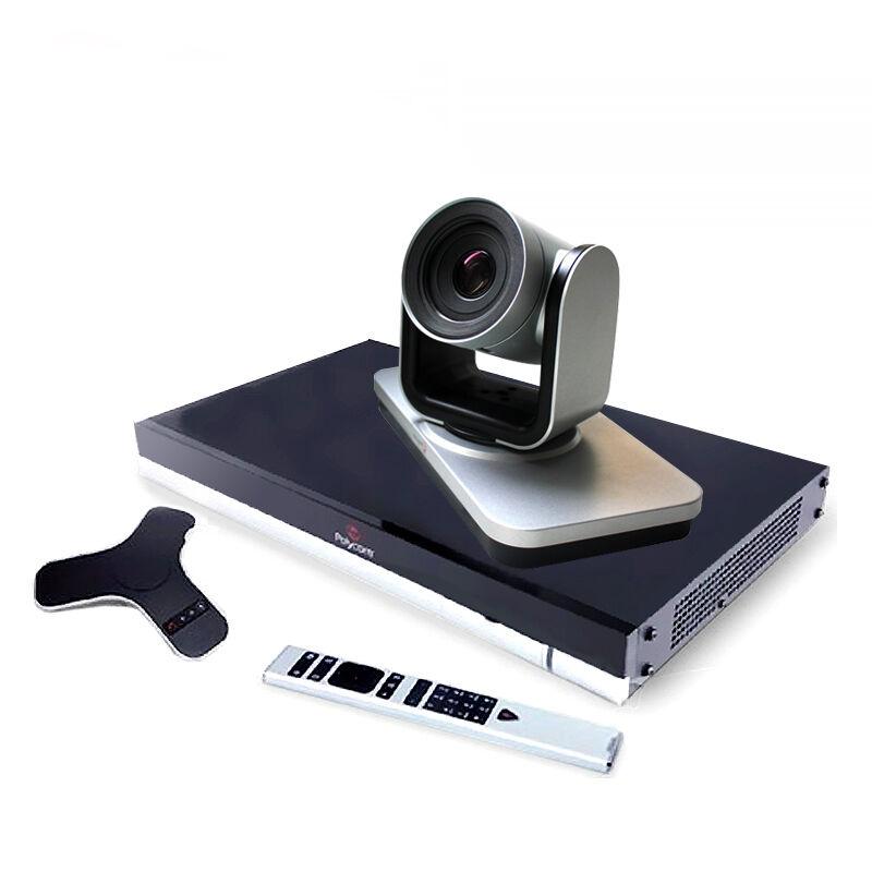 宝利通Group550视频会议1080p含主机/鹰眼/360全向麦克风(套)