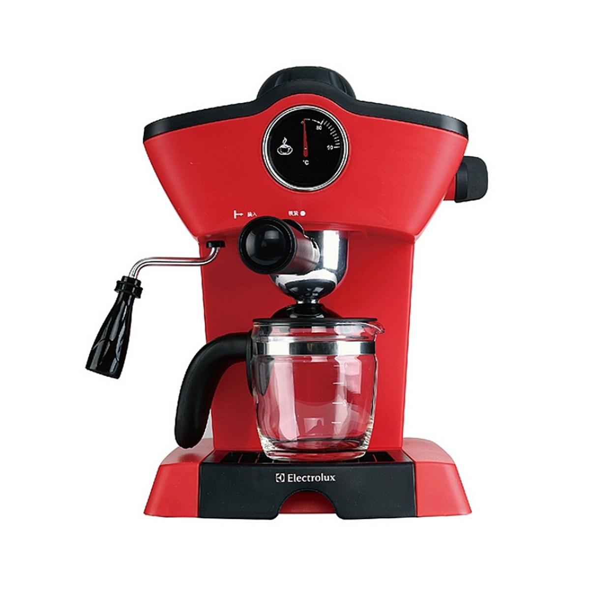 伊莱克斯 EGCM1000 咖啡机 800W(单位:台) 红