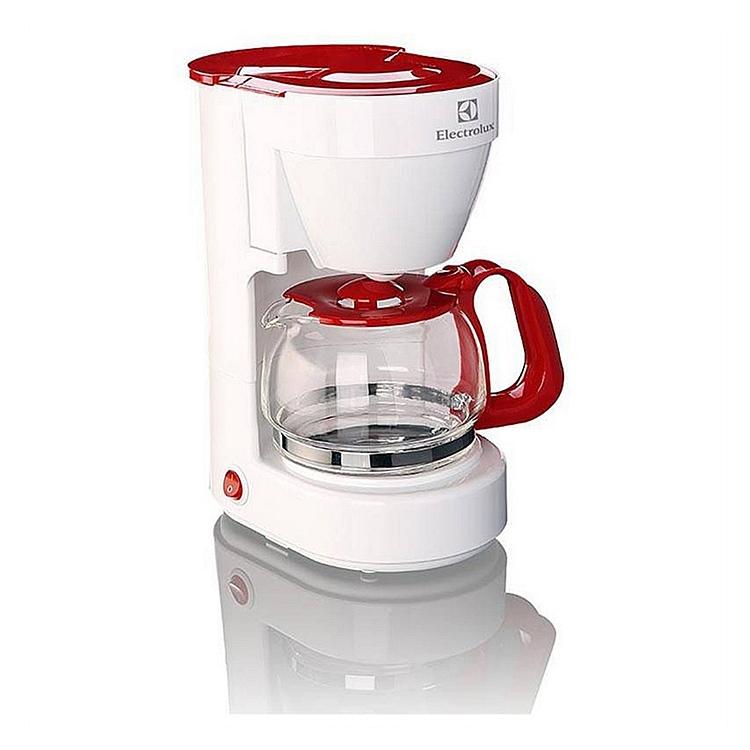 伊莱克斯 EGCM350 咖啡机 800W(单位:台) 白+红